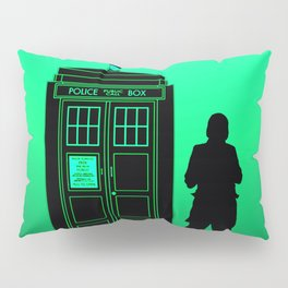 Tardis With The First Doctor Pillow Sham