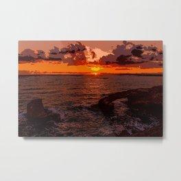 Travel to Sunset 02 Metal Print