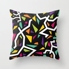 Let's go to party Throw Pillow