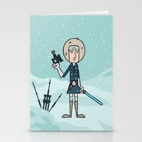 han solo Stationery Cards featuring EP5 : Han Solo by Jason Yang