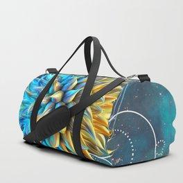 Weird Space Alien Life Duffle Bag