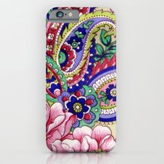 Floral Deco Slim Case iPhone 6s