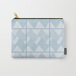 caged Blue Carry-All Pouch