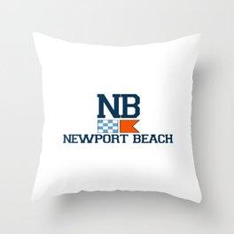 Newport RI Throw Pillow