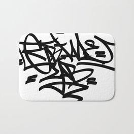 Grime Lab Graffiti Bath Mat