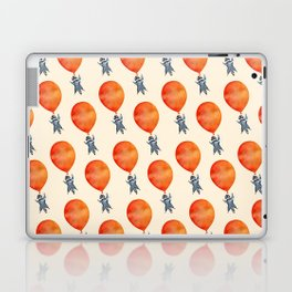 Raccoon and Balloon Laptop & iPad Skin