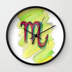 Scorpio Flow Wall Clock