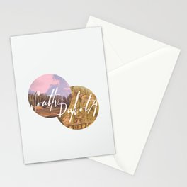 Into The Mystic  Stationery Cards