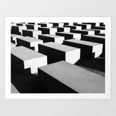 Berlin holocaust Art Print
