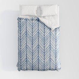 Shibori Herringbone Pattern Comforters