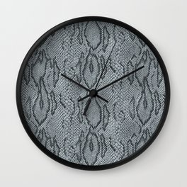 BOA SKIN (PLATINUM) Wall Clock