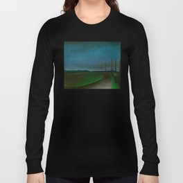Lost On A Dark Highway Long Sleeve T-shirt