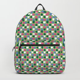 Colorful pills Backpack