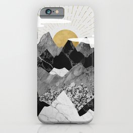 Sun rise iPhone Case