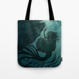 The day a mermaid found a shipwreck Tote Bag