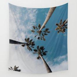Palm Tree Summer Fun Wall Tapestry