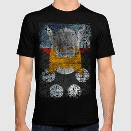 God of thunder grunge superhero T-shirt