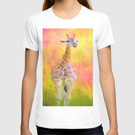 Tall Giraffe Loveliness  T-shirt