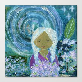 Night in the Garden Canvas Print