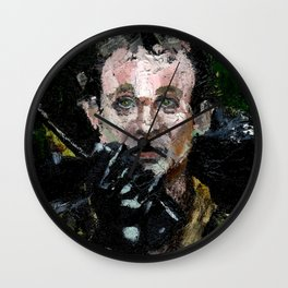 """I think he can hear you Ray"" Wall Clock"