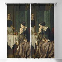 Jean-Baptiste Antoine Emile Beranger - Mother's Instructions Blackout Curtain