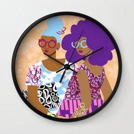 The Terrific Two Wall Clock