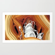 Fermatic Embrace Art Print
