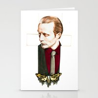 hannibal Stationery Cards featuring Hannibal by Caeruls