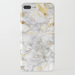 Gold Mine Marble iPhone Case