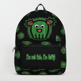 I'm Not Fat; I'm Fluffy! Backpack