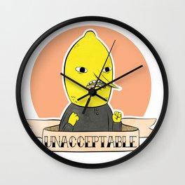 earl of lemongrab Wall Clock