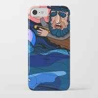house md iPhone & iPod Cases featuring Ahab, MD by Birdcap
