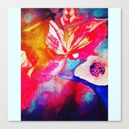 Abstract fall foliage Canvas Print
