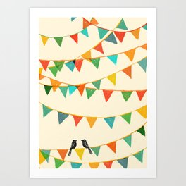 Carnival is coming to town Art Print
