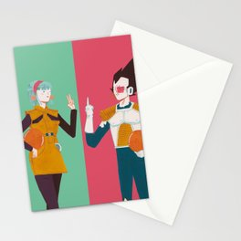 DBZ Team Stationery Cards