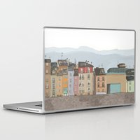 cityscape Laptop & iPad Skins featuring Cityscape by Paint Your Idea