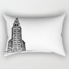 the Electric Tower Rectangular Pillow