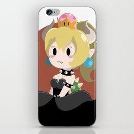 Bowser Princess (blond ver.) iPhone Skin