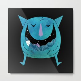Swallowed By The Sea Metal Print