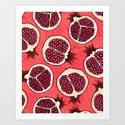 Pomegranate slices 2 by katerinamitkova
