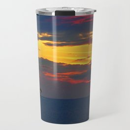 Sunset Light Travel Mug