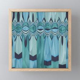 Blue Eyes Framed Mini Art Print