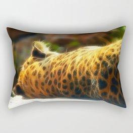 Cheetah fractal animal Rectangular Pillow