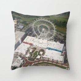 Orlando Eye Throw Pillow