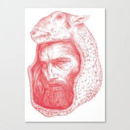 LambSkin Canvas Print