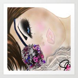 Beauty Buccaneer Illustration Art Print