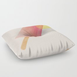 sunrise popsicle Floor Pillow