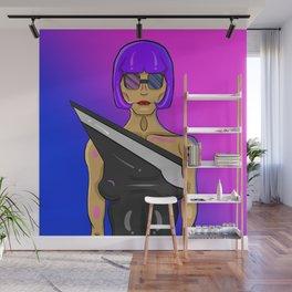 Chic Model Wall Mural