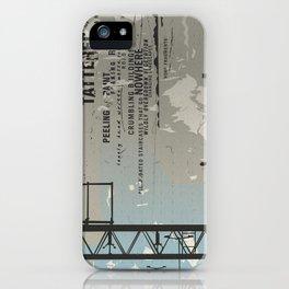 Urban decay 3 iPhone Case