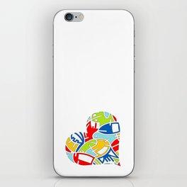 Heart (7) iPhone Skin